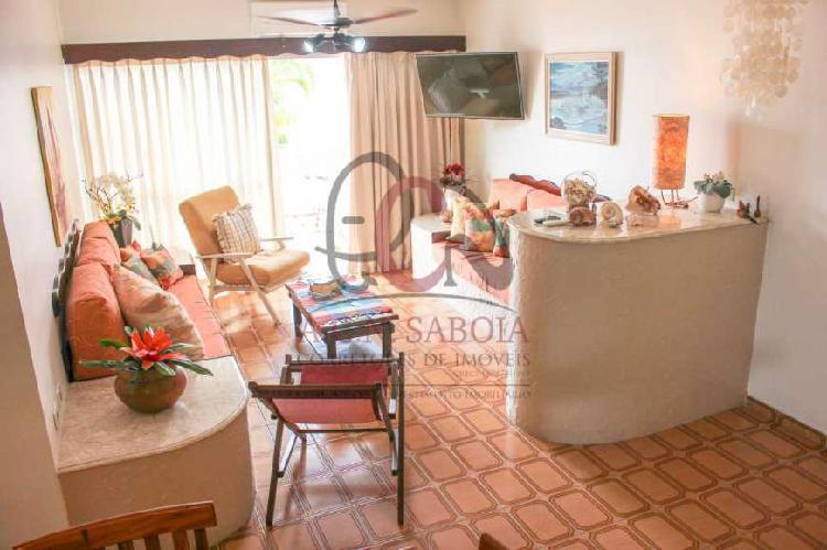 Apartamento residencial em ubatuba - sp, praia do itaguá