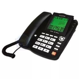 Aparelho telefone c/ fio id viva voz mt-129 preto maxtel