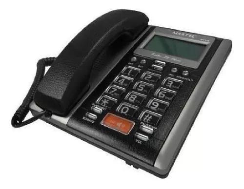 Aparelho telefone com fio id viva voz mt-149 maxtel