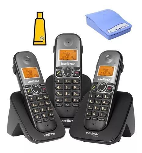Aparelho Telefone Fixo Ts 5123 Bina 2 Ramais Entrada Chip