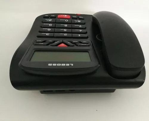 Aparelho telefone identificador chamadas fio fixo viva voz