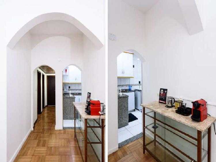 Apartamento para aluguel com 2 quartos em botafogo - rio de