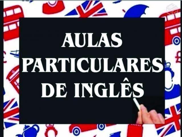 Aulas particulares de Inglês Promoção R$ 40,00