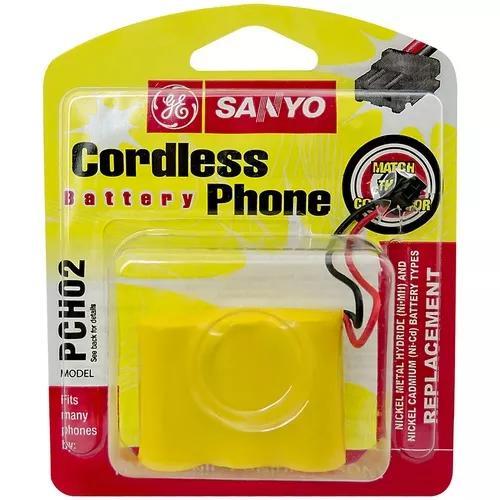 Bateria 3.6v 300 mah telefone s/fio para panasonic sony ge