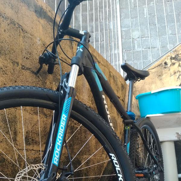 "Bike estilo mountain bike aro 29"" tamanho m"