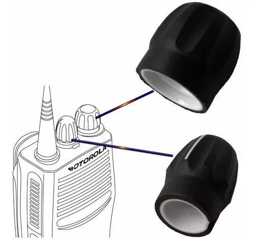 Botão liga e desliga e canal para motorola ep450 - dep450