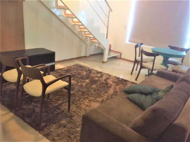 Charme e conforto: loft duplex, 63m², todo mobiliado, 02