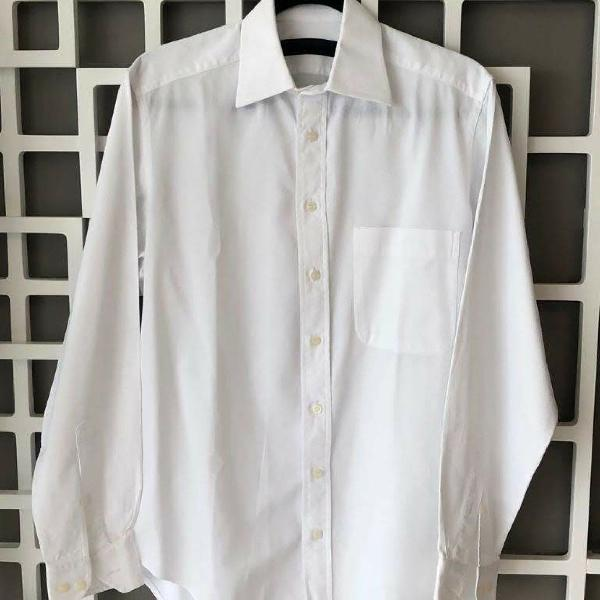 Camisa social branca básica