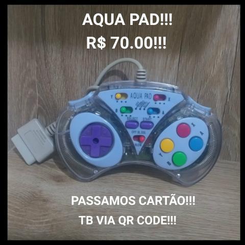Controle aqua pad!!!