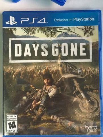 Days gone ps4 semi novo