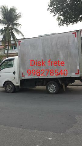 Disk fretes e pequenas mudanças *