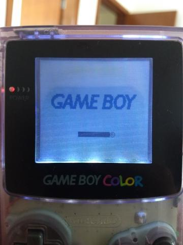 Game boy color com frontlight já instalado!!