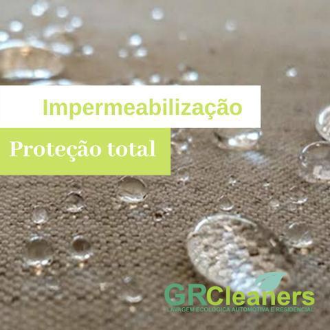 Higienização e impermeabilização