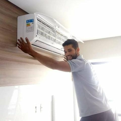 Instalação e manutenção em ar condicionado