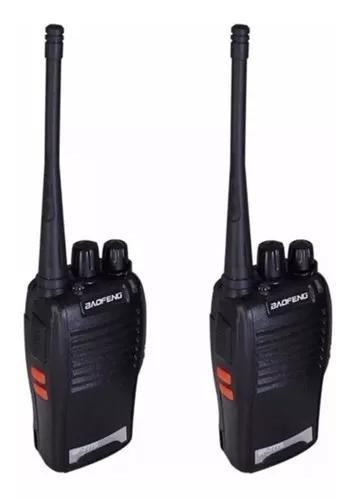 Kit 2 radios comunicador walk talk baofeng bf777 uhf + fone
