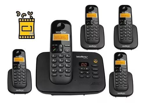 Kit aparelho de telefone fixo de mesa s