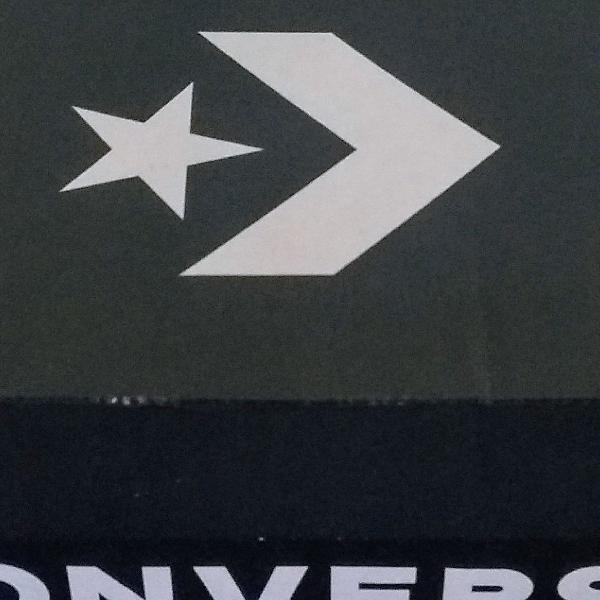 Lindo skeaker tênis all star converse branco couro 100%