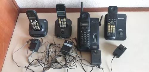 Lote com 4 telefone s