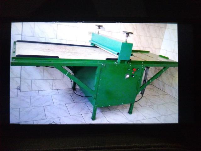 Máquina corte vinco