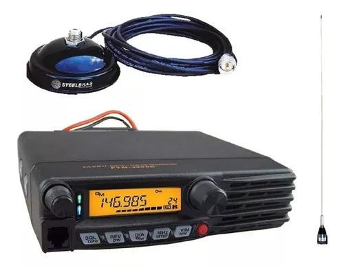 Pacote yaesu ftm 3100r + antena magnética steelbras