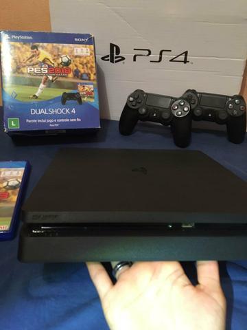 Playstation 4 slim 500gb - seminovo