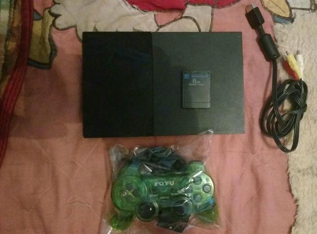 Playstation 2 jogos armazenado
