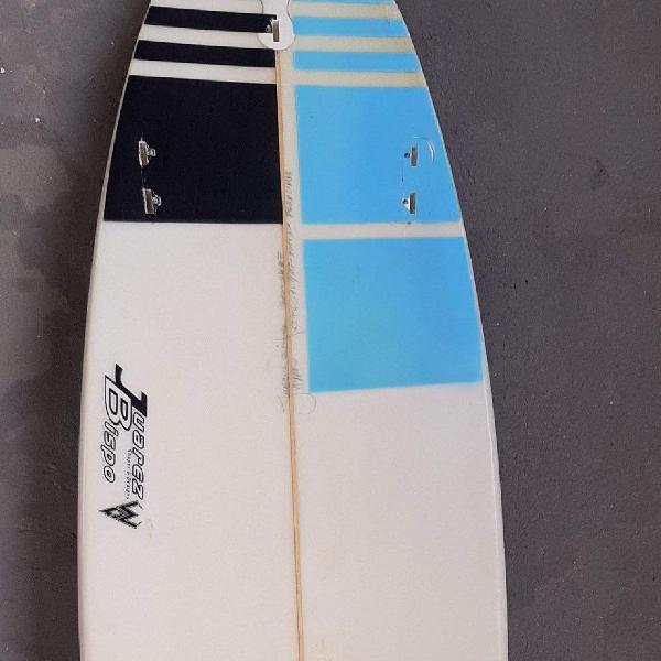 """Prancha de surf usada, tamanho 5.11"""""""