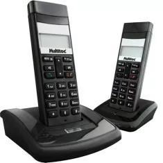 Ramal 2 telefone para central mu210c dect black - multitoc