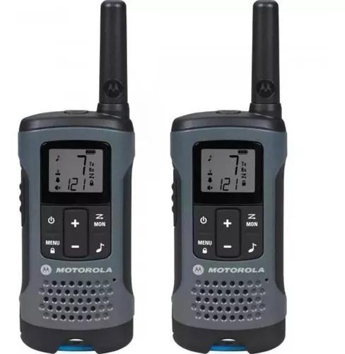 Rádio motorola walk talk talkabout t200 comunicador 32 km