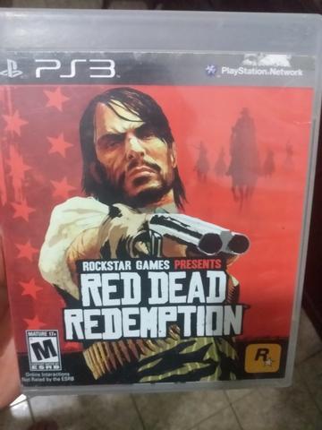 Red dead redemption - ps3 - playstation 3 - original