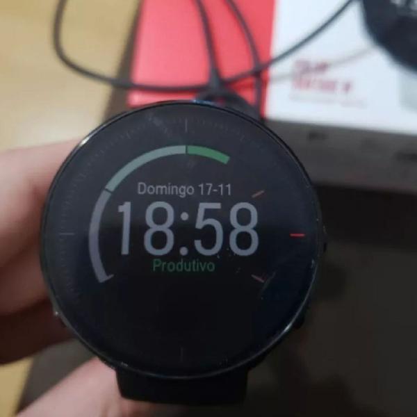 Relógio polar, para corredor amador ou profissional.