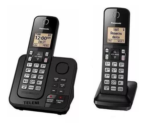 Telefone bloqueador panasonic 2 base+secretaria+reseva energ