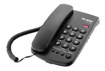 Telefone c/ fio p/ mesa viva voz / m