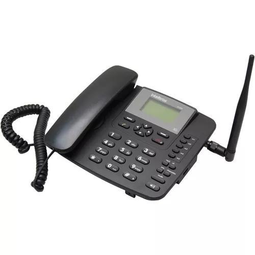 Telefone celular rural 3g c/fio intelbras - envio rápido