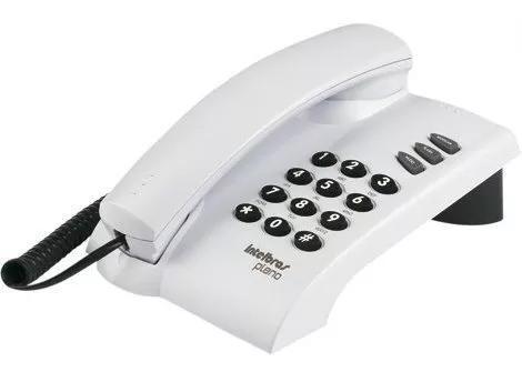 Telefone c/fio intelbras pleno cinza super barato!!