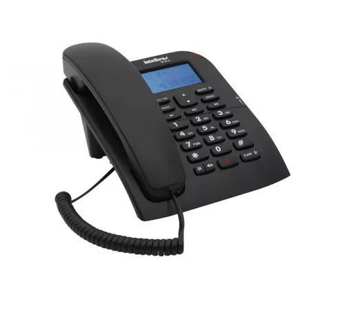 Telefone com fio intelbras bina tc60 id com identificador