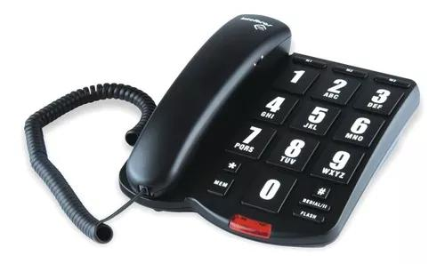 Telefone com fio intelbras tok fácil teclas grandes