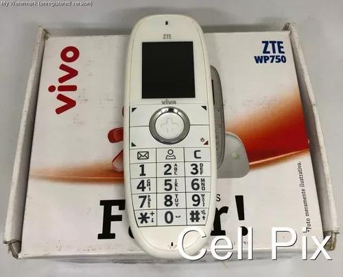 Telefone fixo chip gsm 3g zte wp750 desbloqueado - usado