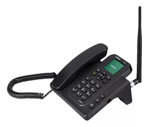 Telefone fixo rural intelbras cfw 8031 com roteador wifi