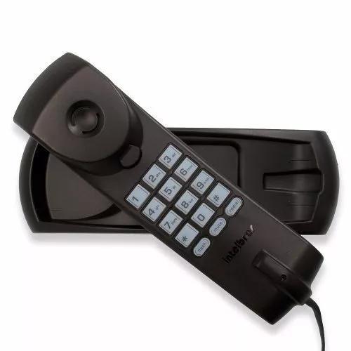 Telefone gondola tc20 preto intelbras p/ mesa ou parede fio