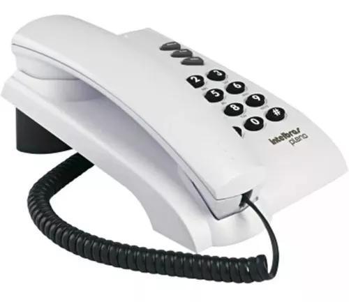 Telefone intelbras com fio pleno, ideal para