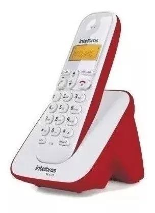 Telefone intelbras digital vermelho s
