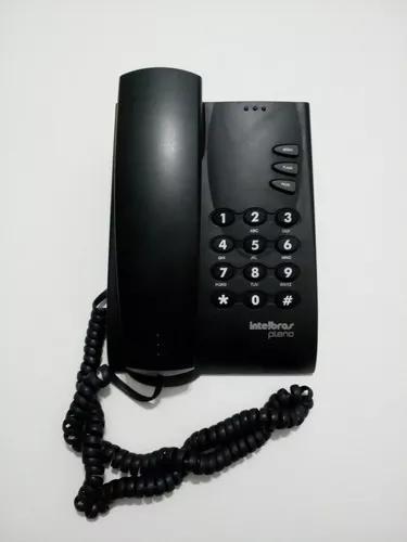 Telefone intelbras pleno de mesa ou parede com fio