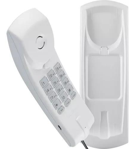 Telefone interfone intelbras tc 20 slim mesa ou parede/fio