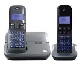 Telefone motorola m4000 2 bases com bina exp preto