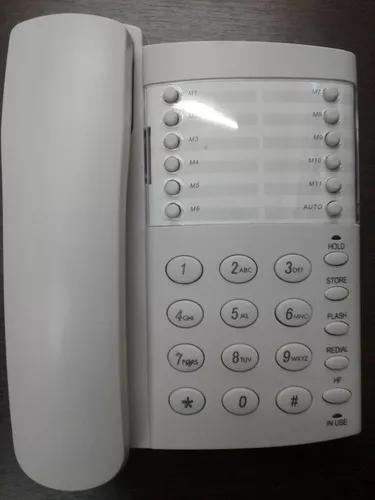 Telefone office viva voz com fio multitoc