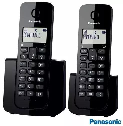Telefone panasonic 01 ramal lcd identificador kx-tgb112lbb
