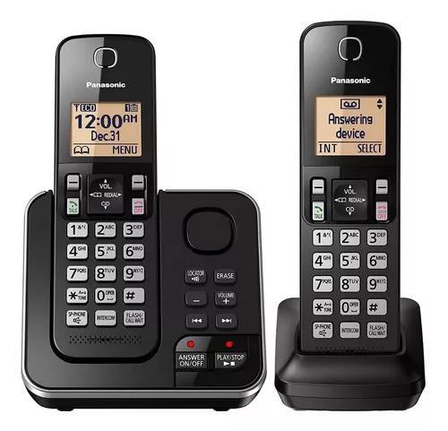 Telefone panasonic kx-tgc362 secretária eletrônica 2 bases