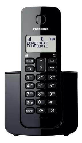 Telefone panasonic s fio id de chamadas kx-tgb110lbb c/ nfe