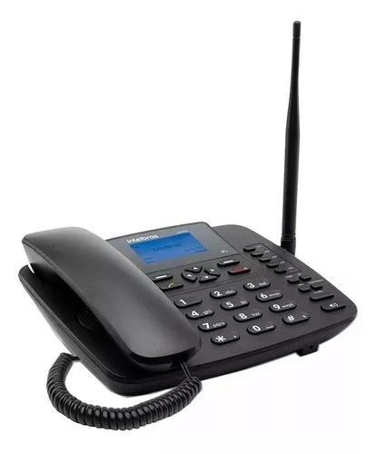 Telefone rural intelbras cf 6031 3g single chip antena 3 dbi